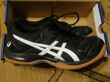 New listing Womens ASICS GEL Rocket 9 Volleyball Shoes Black White Size 6 Athletic Sneaker