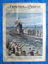 La Domenica del Corriere 7 settembre 1941 Marina-Pietroburgo- Mussolini-Hitler