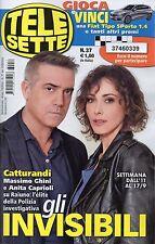 Telesette 2016 37#Massimo Ghini & Anita Caprioli,Enzo Miccio,Claudia Ruffo,kkk