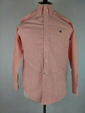 Brooks Brothers 346 Button Front non iron checks long sleeve shirt S (K)