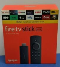 AMAZON FIRE TV STICK LITE HD STREAMING (BRAND NEW SEALED)