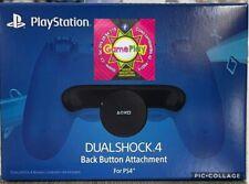 back button attachment  per controller ps4 originale nuovo sigillato