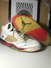 Jordan Retro 5 Fire Red 1 3 4 6 7 8 9 10 11 12 13 14 16 20 cool bred wolf space