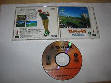 T&E VR Golf Waialae no Kiseki 3DO Japan import US Seller