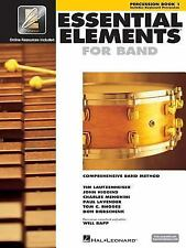 Essential Elements for Band Bk. 1 : Percussion/Keyboard Percussion (1999,...