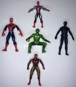 Marvel Lot Of 5 Figures 1994-2019 Hasbro Toybiz Toys Spider-man And Green Goblin