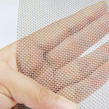 """Stainless Steel Woven Wire 20 Mesh 12""""X24"""" 30cmX60cm Rodent Insect Mesh Cabinets"""