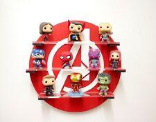 Avengers Pop vinyl display Shelf Red