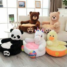 Bear Sofa Cartoon Stuffed Kids Panda Plush Chair Children Cute Toys Plush Pillow