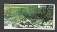 New Zealand - 1988, $3.30 Native Birds, Silvereye Booklet - MNH - SG 1462