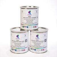 DARK GRAY EPOXY RESIN 100% SOLIDS FOR GARAGE FLOOR, PLYWOOD, CONCRETE.3 GAL KIT