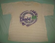VTG 1992 CHURCHILL DOWNS DERBY 118 HORSE RACE T SHIRT XL SINGLE STITCH 90s USA