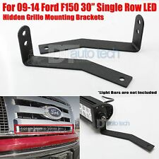 Ford F150 front grille 30 Inch LED Light Bar Bumper Mounting Brackets Holder