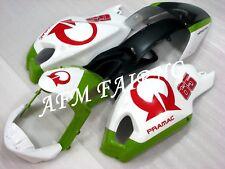 White Green ABS Injection Mold Bodywork Fairing for Ducati Monster 696 796 1100