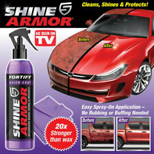 New Shine Armor 3-IN-1 Ceramic Coating, Car Wax, Wash and Shine !!