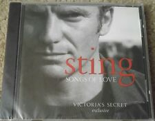 Sting - Songs of Love CD Victoria's Secret Exclusive Sealed - 8 Tracks 2003