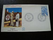 FRANCE - enveloppe 1er jour 9/11/1971 (general de gaulle) (cy16) french