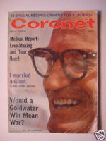 CORONET November 1964 BARRY GOLDWATER JEANMAIRE +++