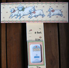 Child's Growth Chart  Wooden  Holds Photos sheep lambs designs by Susan Winget