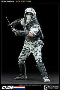 1/6 Sixth Scale G.I Joe Storm Shadow Assassin Figure Sideshow Collecibles