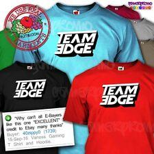 Team Edge Hoodie T shirt - Gamer Tee - Jellytime Youtuber Gift