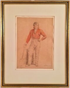 Listed Artist Ferdinand De Braekeleer (1792-1883) Signed Painting w/ Provenance