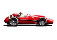 Peter Collins, Ferrari 246 1958 British Grand Prix Winner Greeting Card A5 size