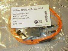 2 Meter MTRJ/ST Fiber Optic Cable with ST-IBM Coupler NEW!