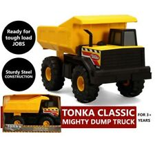 Large Metal Tonka Dump Truck 42cm Sandpit Construction Vehicle Huge Toy Indoor