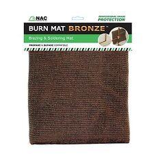Heat Resistant Brazing and Soldering Plumbers BURN MAT BRONZE by NAC INDUSTRIAL
