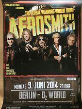 AEROSMITH 2014 BERLIN   --  Tour Poster - Concert Poster    --  84 x 59 cm