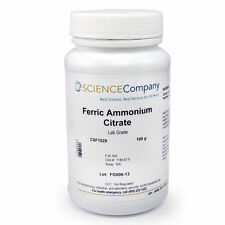 NC-0367  Ferric Ammonium Citrate, Green Flakes, 100g, Photography, Cyanotype