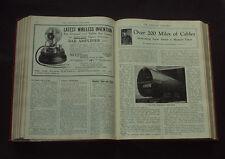 MECCANO MAGAZINE 1927: Construction Toys / Metal Trains & Planes /Jan - Dec 1927