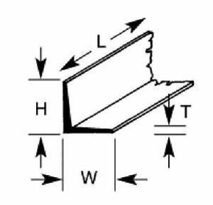 Plastruct AFS8  Angle 6.4 x 6.4 x 600mm