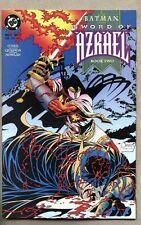 Batman Sword Of Azrael #2-1992 nm- Denny O'Neil Joe Quesada 1st Bii