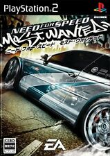 Used PS2 Need for Speed ??Most Wanted Import Japan