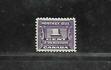 CANADA POSTAGE DUE STAMP #J11 (HINGED) FROM 1933-34