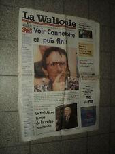 LA WALLONIE 1997/02/28 CELINE DION JULIEN COURBET SYLVIE JOLY PIERRE DAC MARAIS