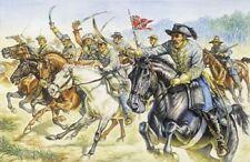 Italeri 1/72 Confédéré Cavalerie guerre de Sécession # 6011
