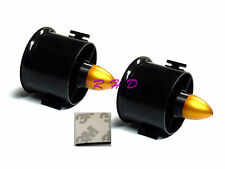2Pack 70mm Duct Fan 3000KV Brushless Outrunner Motor for EDF RC Jet Plane 3M