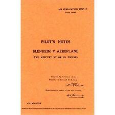 Blenheim V  Pilots Notes, Air Ministry | Paperback Book | 9780859790130 | NEW