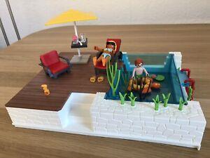 Playmobil 5575 Einbau-Swimmingpool passend zu 5574 Luxusvilla Schwimmbad