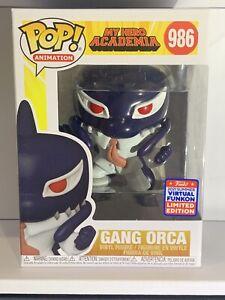Funko Pop! My Hero Academia:Gang Orca #986 2021 Virtual Funkon Shared Exclusive