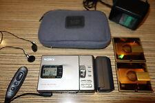 Sony r30 md minidisc + Remote accesorios + AA battfach (764)