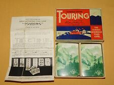 VINTAGE OLD CARS PARKER BROTHERS TOURING AUTOMOBILE CARD GAME