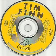 Split Enz TIM FINN Not Even Close 1989 PROMO Radio DJ CD single Crowded House