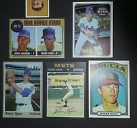 👍 Nolan Ryan Lot 1968 Rookie Card 1969 Topps 1970 Topps 1971 Topps 1972 Topps ✔