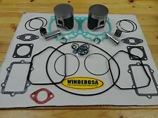 SKI DOO 600 DUAL RING PISTON KIT WITH BEARINGS & GASKET SET FITS MOST 2003-2009