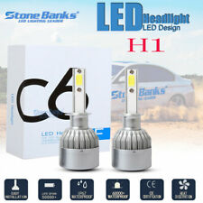 H1 LED Headlight Kit 100W 20000LM High Beam or Fog Light Bulb 6000K Xenon White