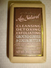 New Castelbel Made in Portugal 10.5oz Bath Bar Soap Ground Coffee/Cocoa Butter